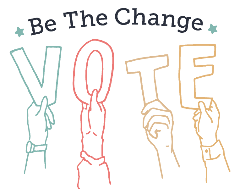be the change- vote