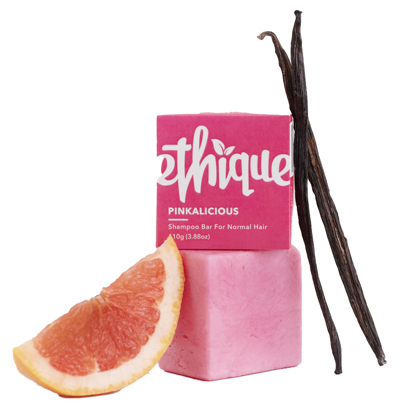 ethique bar with plastic-free packaging